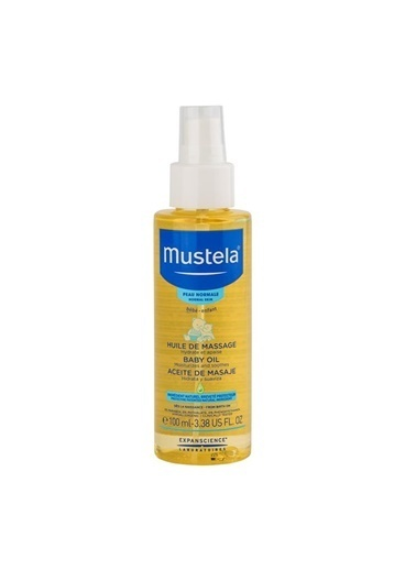 Mustela Massage Oil Renksiz